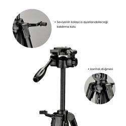 Honcam Tr-472 Professional Tripod Taşıma Çantalı 170 cm. ürün görseli