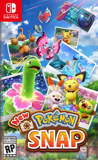 New Pokémon Snap Switch Oyun. ürün görseli
