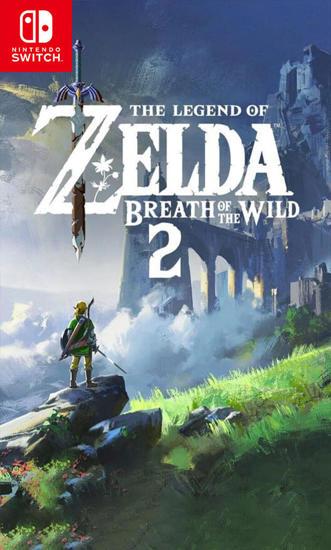 The Legend of Zelda Breath of the Wild 2. ürün görseli