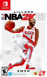 NBA 2K21  Nintendo Switch Oyun. ürün görseli