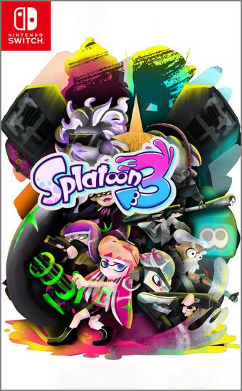 Splatoon 3 Nintendo Switch Oyun. ürün görseli