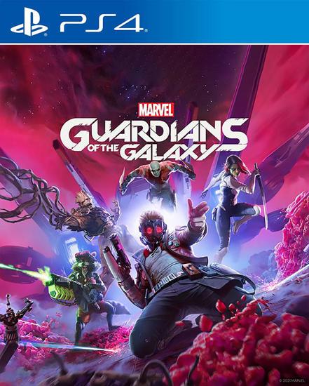 Marvel's Guardians of the Galaxy PS4 Oyun. ürün görseli