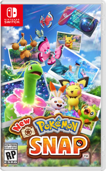 New Pokémon Snap Switch Oyun. ürün görseli