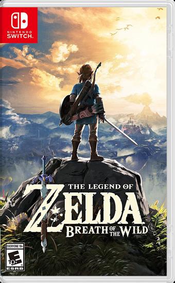 The Legend of Zelda Breath Of The Wild Nintendo Switch Oyun. ürün görseli