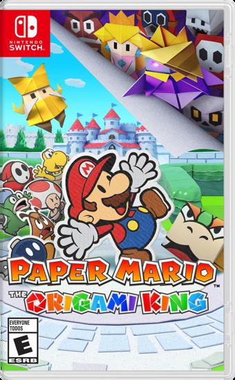 Paper Mario The Origami King Nintendo Switch Oyun. ürün görseli