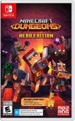 Minecraft Dungeons Hero Edition Nintendo Switch Oyun. ürün görseli