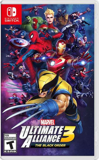 Ultimate Marvel Alliance 3 Nintendo Switch Oyun. ürün görseli