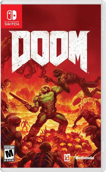 Doom Nintendo Switch Oyun. ürün görseli