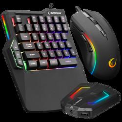 Rampage KM-R92 CHEAT-X USB Mini Klavye+Mouse PS4-Xbox-Switch Klavye Mouse Seti. ürün görseli