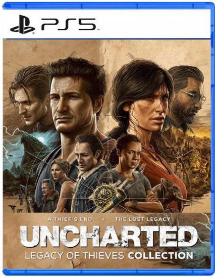 Uncharted Hırsızların Mirası Collection PS5 Oyun. ürün görseli